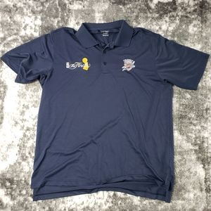 Adidas Climalite Golf Shirt OKC Thinner Finals